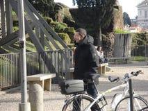 El alcalde de la ciudad de Roma - Sr. Ignazio Marino Fotografía de archivo