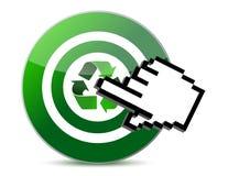 El alcance recicla Fotos de archivo