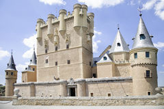 El Alcazar castle Royalty Free Stock Photography