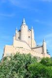 El Alcazar famoso de Segovia, Castilla y León Imagenes de archivo