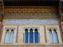 El Alcazar verdadero en Sevilla, España Fotografía de archivo