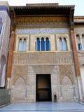 El Alcazar verdadero en Sevilla, España Fotografía de archivo libre de regalías