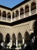 El Alcazar verdadero en Sevilla, España Imágenes de archivo libres de regalías