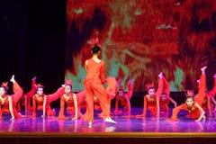 El alcohol de la exposición de enseñanza de clasificación Jiangxi del logro de los niños de la prueba de la academia de la danza  imagen de archivo libre de regalías