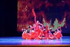 El alcohol de la exposición de enseñanza de clasificación Jiangxi del logro de los niños de la prueba de la academia de la danza  fotografía de archivo