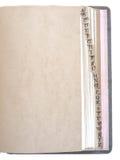 El alfabeto clasificó el libro de registro, vendimia Fotos de archivo libres de regalías