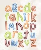 El alfabeto de los niños Fotografía de archivo