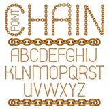 El alfabeto inglés del vector pone letras a la colección F decorativa capital libre illustration