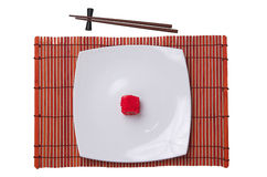 El alimento japonés sabroso del arroz imagen de archivo
