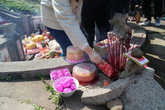El alma de la cultura tradicional china - mande la 'moralidad de s Fotos de archivo