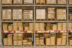 El almacén tiene muchas capas Foto de archivo