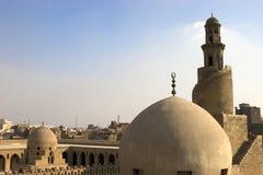 El alminar de Ibn Tulun Imágenes de archivo libres de regalías