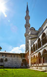 El alminar de Sultan Ahmed Mosque, Estambul Fotografía de archivo