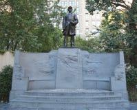 El almirante Farragut Monument en Madison Square Park en Nueva York Imágenes de archivo libres de regalías