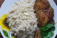 El almuerzo de la aptitud Imagen de archivo