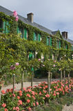 El alojamiento de Monet en Giverny Foto de archivo