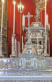 El altar de St Rosalia Chapel Fotografía de archivo