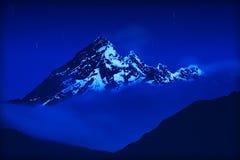 El Altar Volcano Ny Night Royalty Free Stock Image