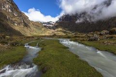 El Altar volcano, Sangay National Park Royalty Free Stock Photo