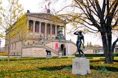El Alte Nationalgalerie, Berlín Foto de archivo
