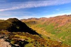El alto derriba de Eagle Crag foto de archivo libre de regalías