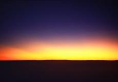 El amanecer Fotos de archivo