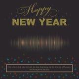 El amante y el deseo de la llamada del concepto del Año Nuevo me llamarán estimado Imagenes de archivo