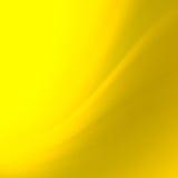 El amarillo abstracto curva el fondo Fotos de archivo