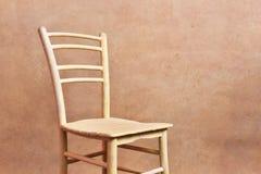 El amarillo de la silla Foto de archivo libre de regalías