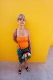 El amarillo es color brillante Fotografía de archivo libre de regalías