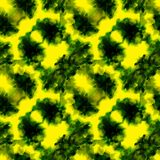 El amarillo salpica el modelo Foto de archivo libre de regalías