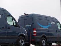El Amazonas consigue la entrega de Prme para la prima del Amazonas fotos de archivo libres de regalías