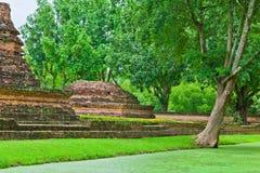 El ambiente del parque histórico Imágenes de archivo libres de regalías