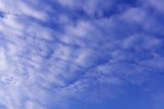 El ambiente suave del concepto fresco relaja el cielo nublado imágenes de archivo libres de regalías