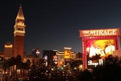 El americano, Nevada, nunca duerme ciudad Las Vegas, americano Imagen de archivo