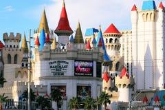 El americano, Nevada, nunca duerme ciudad Las Vegas, americano Fotografía de archivo libre de regalías