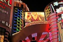 El americano, Nevada, nunca duerme ciudad Las Vegas, americano Foto de archivo