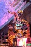 El americano, Nevada, nunca duerme ciudad Las Vegas céntrico, americano Foto de archivo libre de regalías