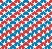 El americano protagoniza la bandera Fotos de archivo