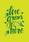 El amor crece aquí libre illustration