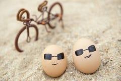 El amor de huevos Fotografía de archivo libre de regalías