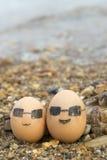 El amor de huevos Fotos de archivo