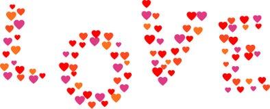 El amor de la palabra Imagenes de archivo