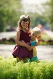 El amor del niño Foto de archivo