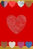 El amor es muchos cosa multicolora Imágenes de archivo libres de regalías
