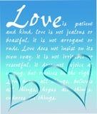 El amor es paciente Imagen de archivo libre de regalías