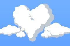 El amor está en el aire Fotografía de archivo libre de regalías
