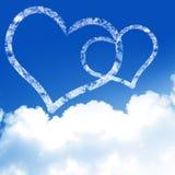 El amor está en el aire Imágenes de archivo libres de regalías