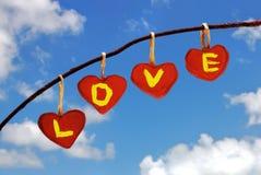 El amor está en el aire Imagen de archivo