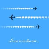 El amor está en el aire Imagenes de archivo